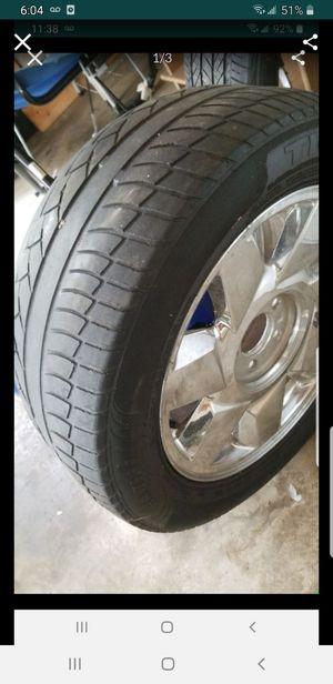 17 inch chrome rim and tire for Sale in Marietta, GA