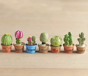 Tiny cacti succulents, faux decor. NEW! Adorably cute! for Sale in Houston, TX