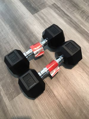 Weider Dumbbells 15lbs for Sale in Anaheim, CA