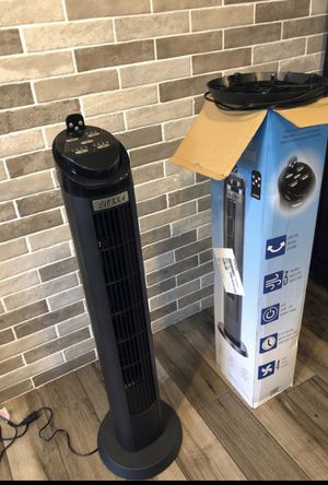 Sierra tower fan with a remote controller,40 inch , assembled, same day free delivery . for Sale in Cudahy, CA