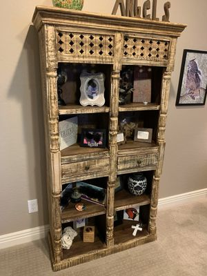 Hand Carved Book Shelve for Sale in Phoenix, AZ