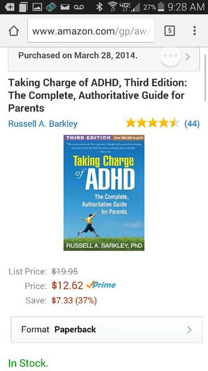 ADHD Book for Sale in Scottsdale, AZ