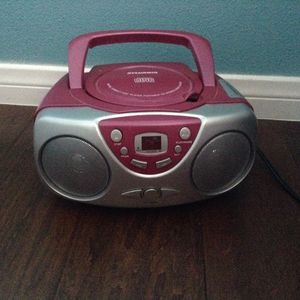 Sylvania Digital Compact Disc Player Portable CD Stereo Radio System for Sale in Castaic, CA