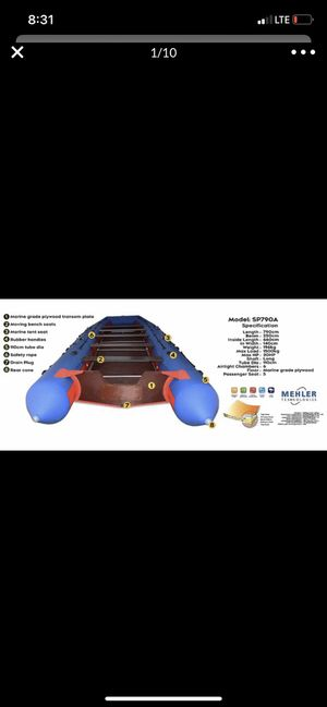 Inflatable Boat 26' for Sale in Davie, FL