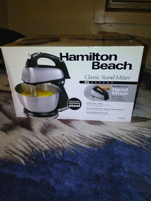 Hamilton Beach blender. Brand new still in box. Never has been used. Asking $50.00 OBO. for Sale in Lodi, CA
