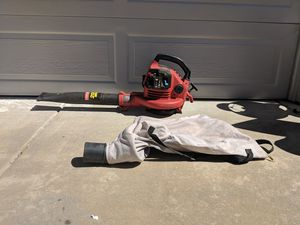 Craftsman Gas Powered Leaf Blower with Bag for Sale in Ramona, CA