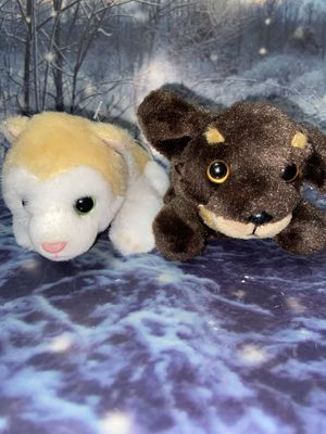 "Russ Petooties pets 5"" plush set for Sale in Lakewood, CA"