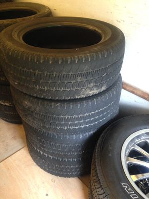 Michelin tires 2 sets and 6 Bridgestone tires for Sale in Atlanta, GA