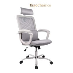 Great Ergonomic Mesh Computer Office Chair with Headrest for Sale in Kent,  WA