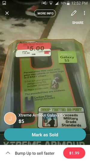 Galaxys 5 case for Sale in Clarksville, TN