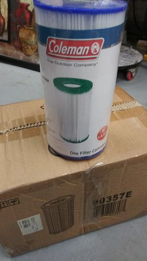 Case Pool Filter Coleman Cartridge A/C Type for Sale in DeLand, FL