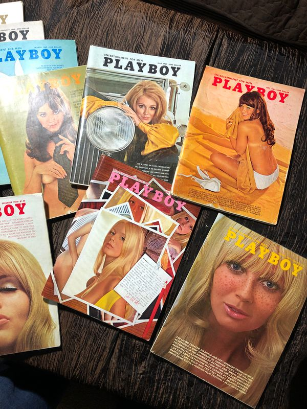 Playboy Magazine 1969 complete set of 12 months