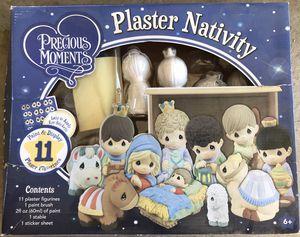 Precious Moments Plaster Nativity Set for Sale in Corona, CA
