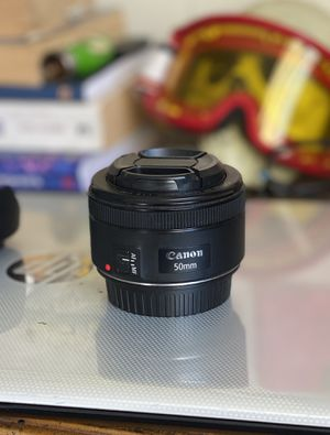 Canon 50mm f/1.8 for Sale in San Francisco, CA