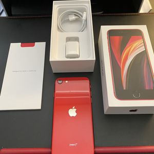 iPhone SE 128GB Red edition *unlocked* for Sale in Tempe, AZ