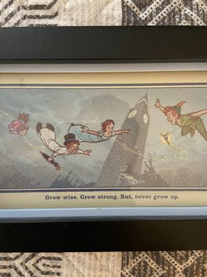 Disney Peter Pan framed photo for Sale in Portland, OR