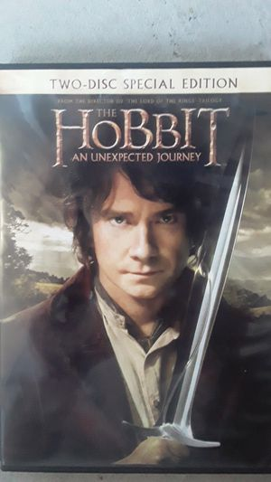 The Hobbit An Unexpected Journey two-disc special edition for Sale in Hummelstown, PA