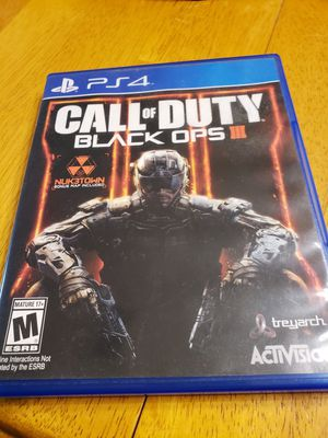 Call of Duty 3 for PS4 for Sale in Jacksonville, FL