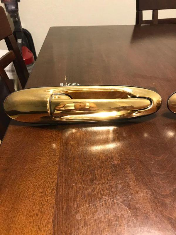 1998-2011 Lincoln Town Car Gold door handles