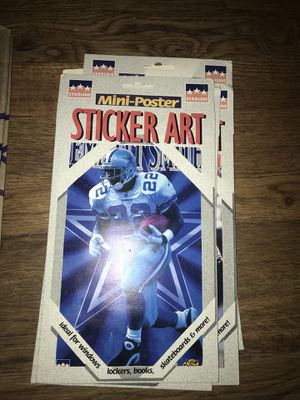 Sports stickers &holographic Wheaties football cards x10 lot for Sale in Colorado Springs, CO