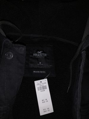 Men's Hollister Black Denim Shepra Jacket for Sale in San Jose, CA