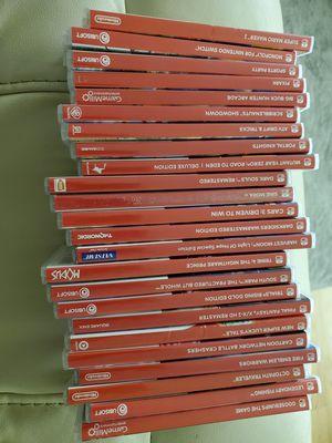 24 Nintendo Switch Games Prices in description for Sale in Springfield, VA