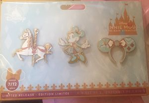 Disney Minnie Mouse attraction series 7 pins for Sale in Stockton, CA