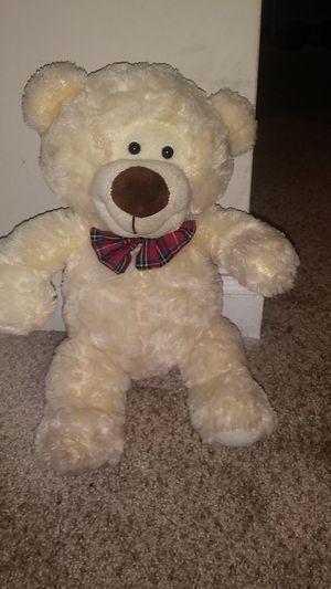 White teddy bear for Sale in Atlanta, GA