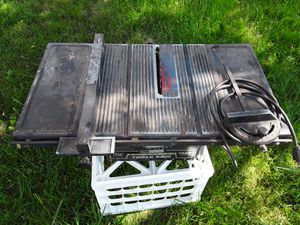 Sears Craftsman table saw for Sale in Clinton Township, MI