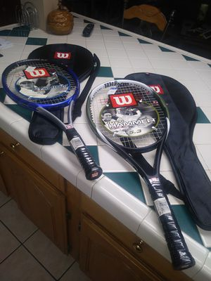 Wilson's Tennis Rackets for Sale in Orosi, CA