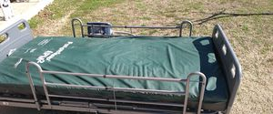 Reclining bed with air mattress an air machine for Sale in Moore, OK