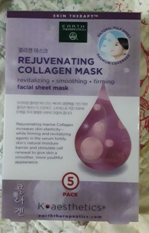 Earth Therapeutic Collagen Mask for Sale in Queens, NY