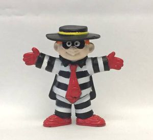 Vintage McDonald's Hamburglar Happy Meal toy 1995 PVC figure figurine for Sale in Phoenix, AZ