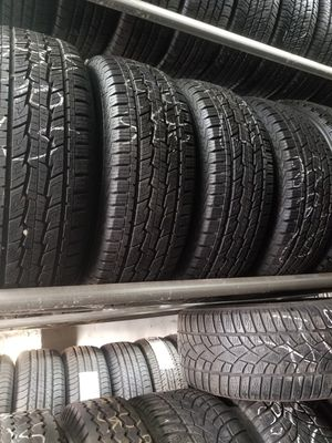4 tires like new 235 70 r15 price includes installation for Sale in Chicago, IL