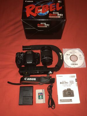 Canon EOS Rebel T6i 750D for Sale in Carlsbad, CA