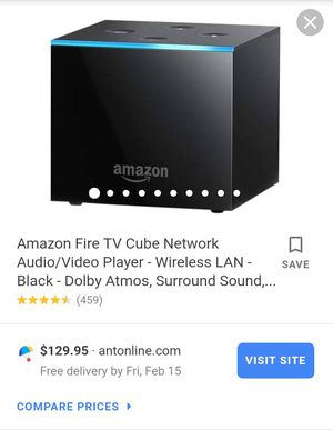 $130.00 AMAZON FIRE TV CUBE for Sale in Colesville, MD