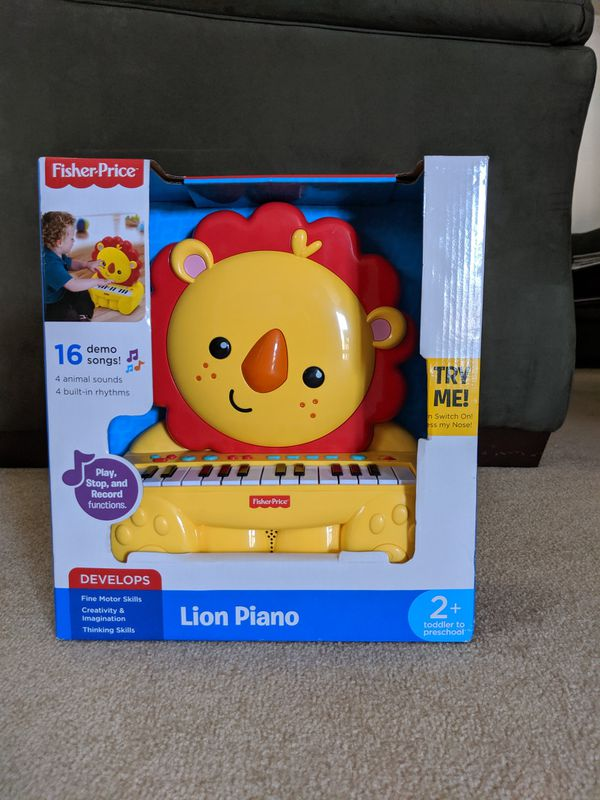 New Fisher Price Lion Piano
