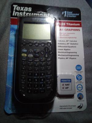 Texas Instruments TI-89 Titanium calculator for Sale in El Monte, CA