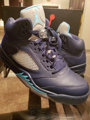 Jordan 5 Retro Pre Grape Size 9.5 for Sale in Atlanta, GA
