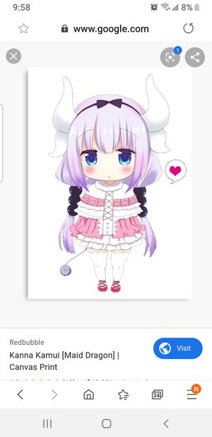 Kanna Kamui Halloween Costume -Cosplay*Anima for Sale in Oak Lawn, IL