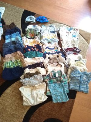 Baby boy clothes size newborn 0-3 for Sale in Canal Winchester, OH