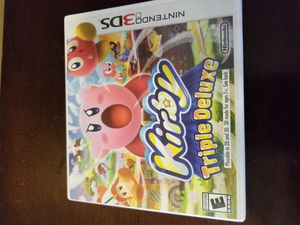 Kirby Triple Deluxe (3DS) for Sale in Louisville, KY