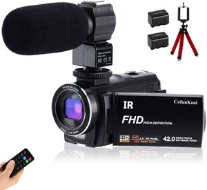 New CofunKool Ultra HD 42MP Video Camera 1080P Camcorder 3.0 Inch 270° Rotation IPS Touch Screen YouTube Vlogging Camera with External Microphone Min for Sale in Orlando, FL