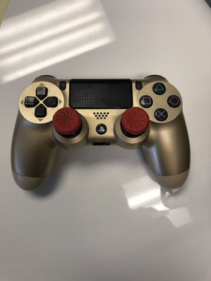 Gold PS4 Controller for Sale in Chicago, IL