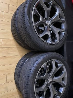 20inch Dodge Charger Rt rims wheels w tires for Sale in Huntington Park, CA