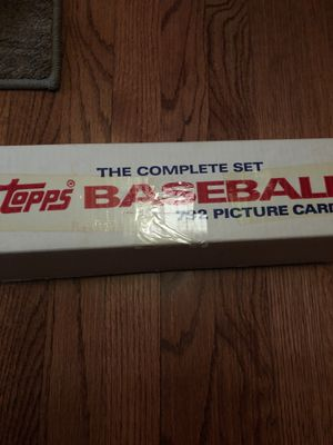 1987 full set of Topps baseball cards for Sale in Arlington Heights, IL