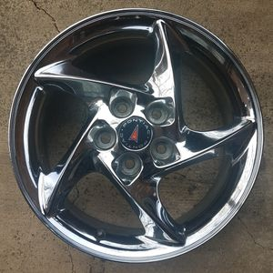 """Pontiac Grand Grix GTP Comp G factory 17"""" twisted 5-spoke wheels 5x115 fits 97+ w-bodies & many GMs for Sale in Naperville, IL"""