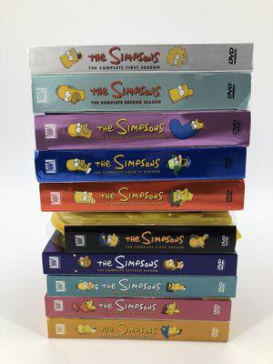 The Simpsons DVD Lot Season 1-10 for Sale in Cumming, GA