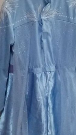 Elsa Costume Dress S(4-6) for Sale in Selma,  CA