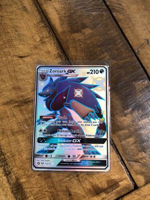 Pokemon Hidden Fates Zoroark GX for Sale in Swatara, PA